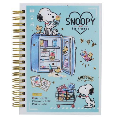 史努比 SNOOPY A6 環形 筆記本