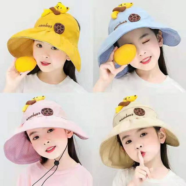 兒童餅乾熊空頂帽