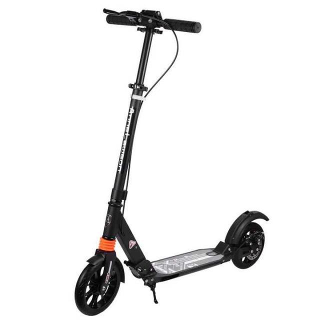 可折疊 成人滑板車二輪鋁合金兩輪可折疊 代步車