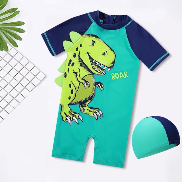 韓版立體恐龍🦖泳裝