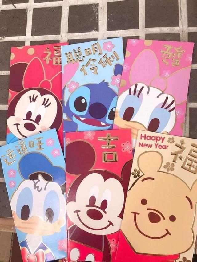可愛卡通紅包袋