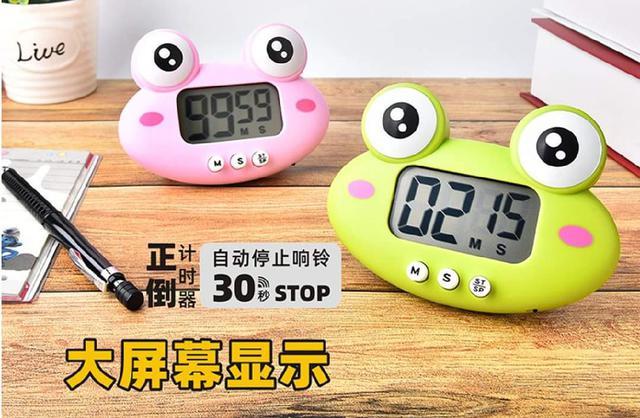 (預購s+) A438-卡通動物大屏幕電子計時器