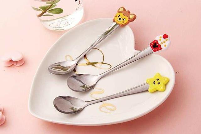 (預購S) G459 - 可愛卡通造型小湯匙(一組10支)