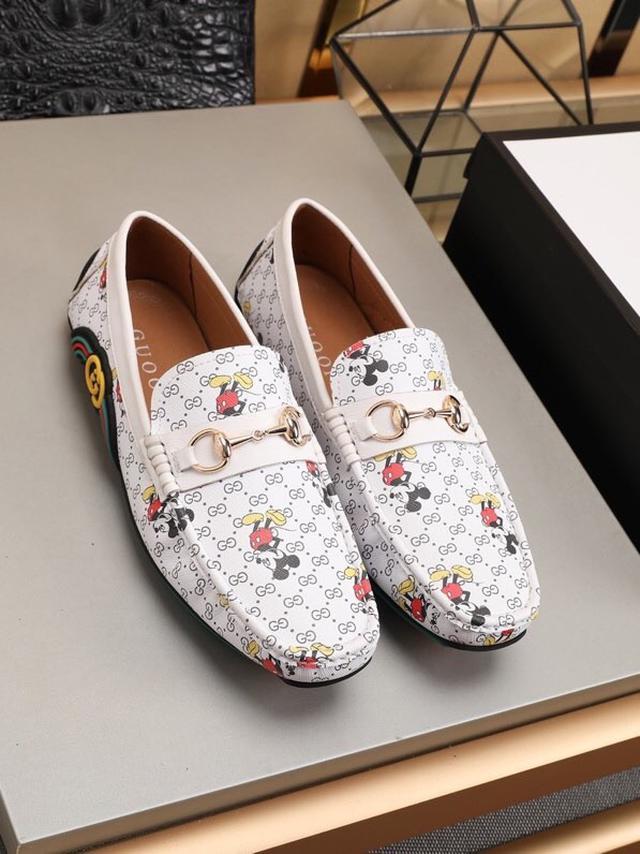 【GUCC*】🎁爆款豆豆鞋💥版型简洁大气