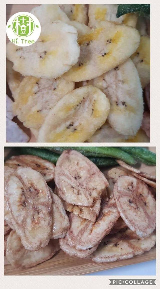 原味/焦糖香蕉脆片