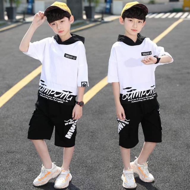 【預購】中大童假兩件套裝2件組