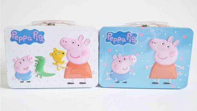洋-小豬鐵盒曲奇牛奶餅乾(一盒八入)