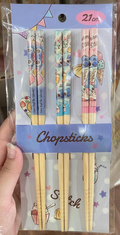 天然竹筷3入組