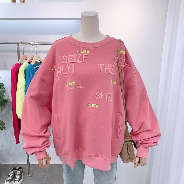 【預購】字母刺繡上衣