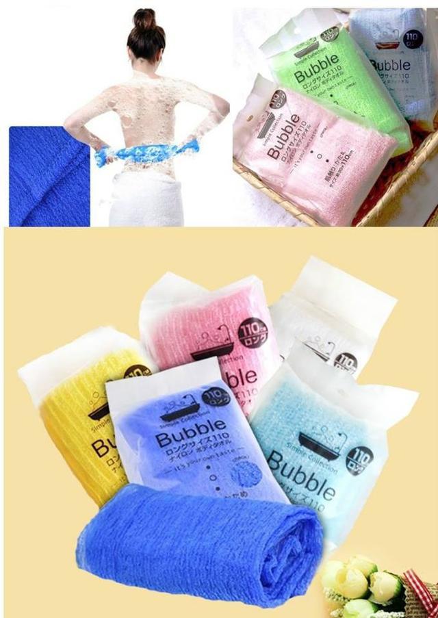 日本Bubble免搓澡巾(3條)
