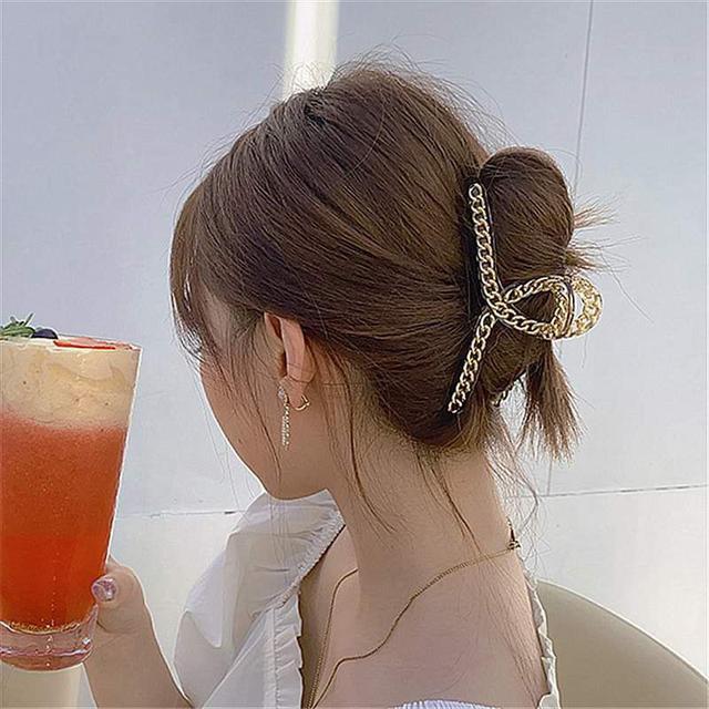 【預購】個性鏈條髮夾