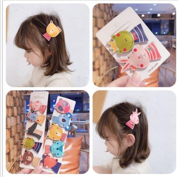 (預購e) 韓國可愛小動物兒童BB夾