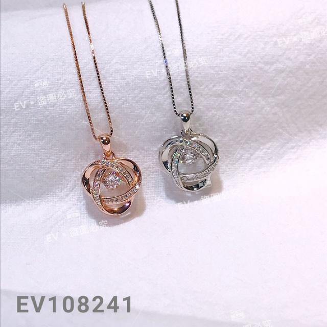 正生銀飾 靈動風車項鍊 EV108241