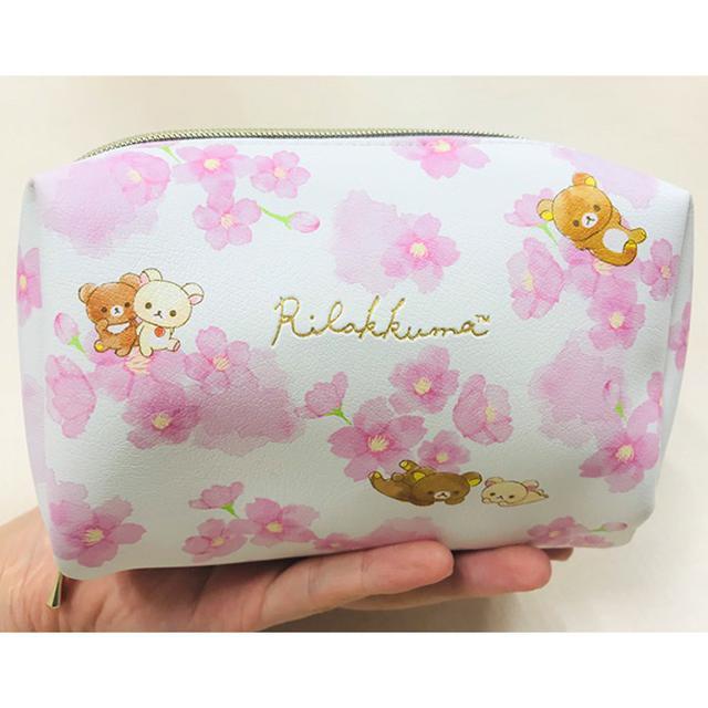 日本🇯🇵懶懶熊櫻花粉化妝包