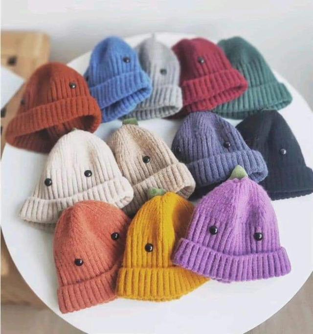 (預購S) 韓國可愛兒童恐龍造型針織帽