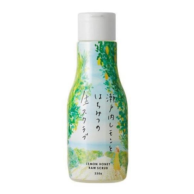 日本製天然食物成分 檸檬磨砂膏