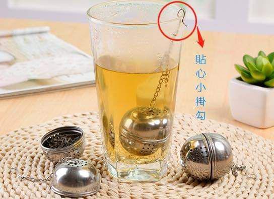 (預購S) 不鏽鋼中藥材濾球泡茶濾球(一組3個)