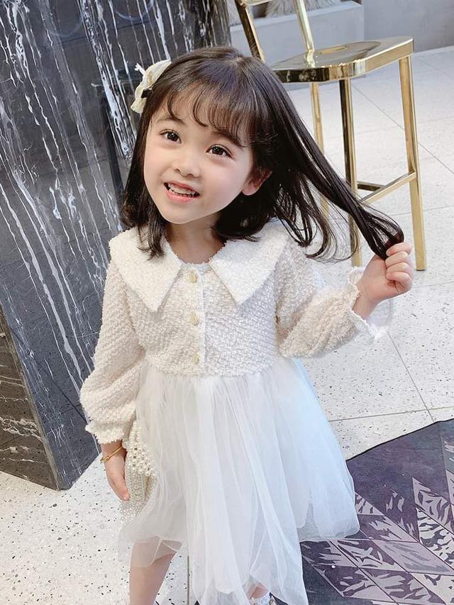 【預購】女童韓版紗裙洋裝