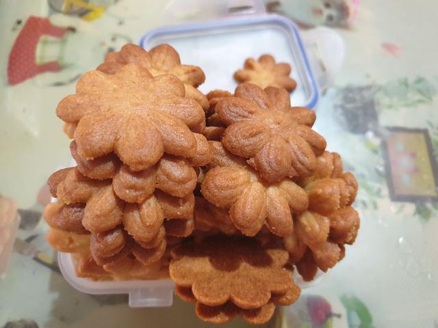 曲奇小花餅乾