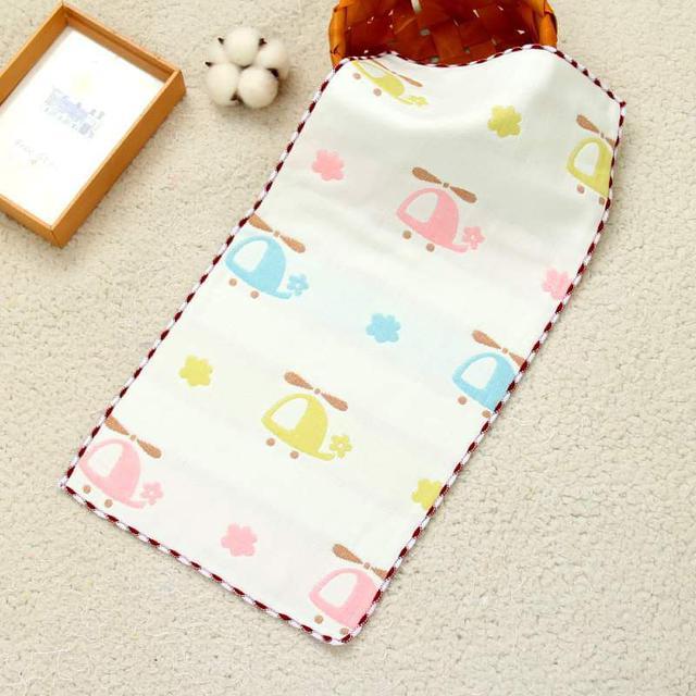 【預購】純棉六層紗布巾/洗臉巾