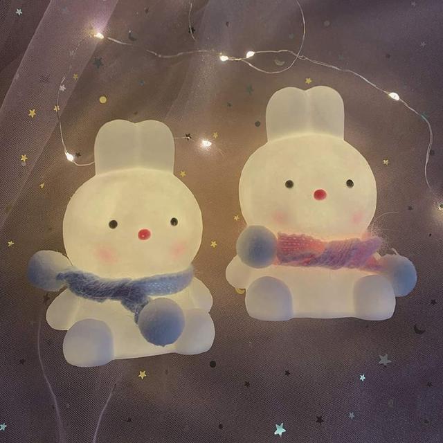 (預購s+) A426-網紅可愛萌小兔小夜燈
