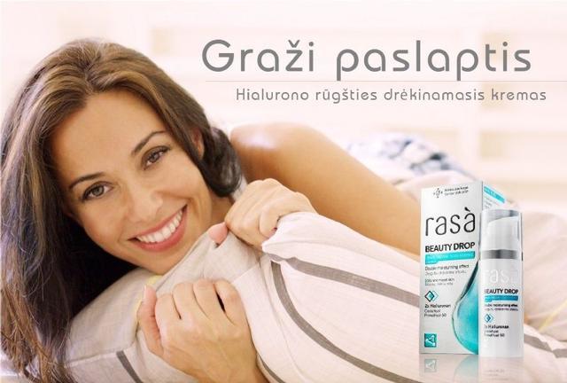 歐洲必買。RASA雙效玻尿酸保濕面霜50ml