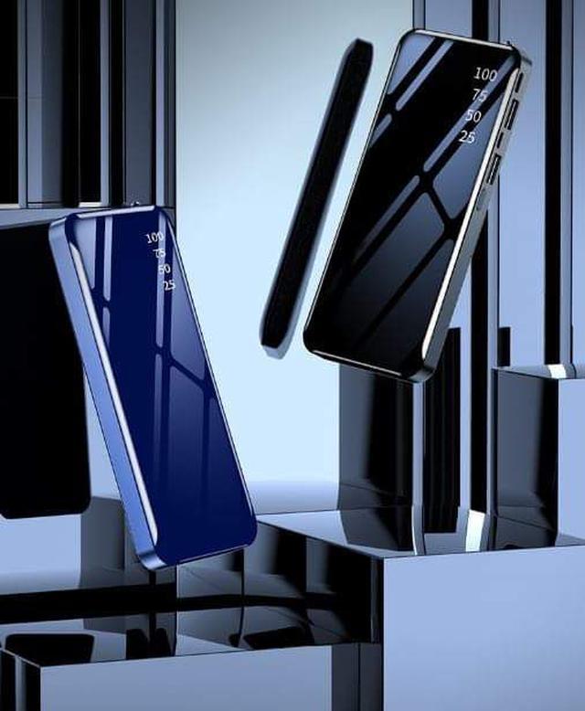 (預購S) 鋼琴烤漆鏡面大容量20000毫安行動電源