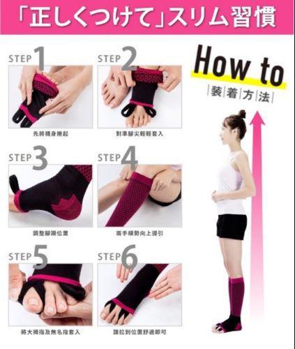 日本 LUNABUTIY 夜寢 孅腿 鑽型 正盤襪