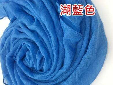棉麻圍巾第二版