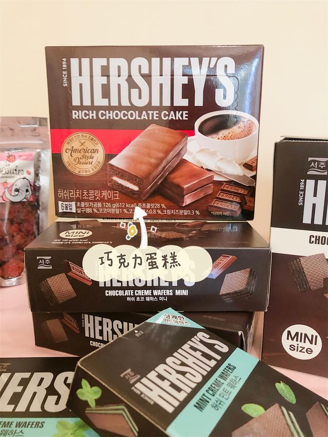 《現貨*3》Hershey's巧克力夾心蛋糕