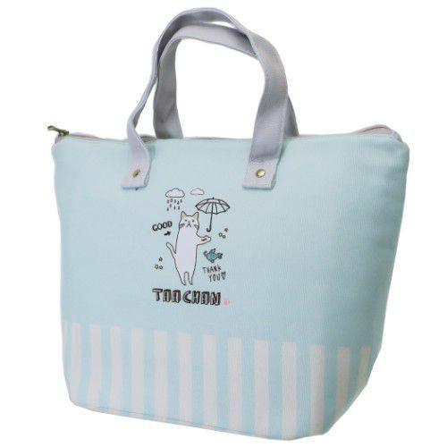 撐傘 貓咪 手提袋 便當袋 保冷袋