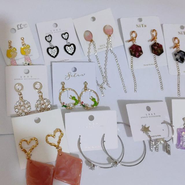 一批全新耳環 飾品