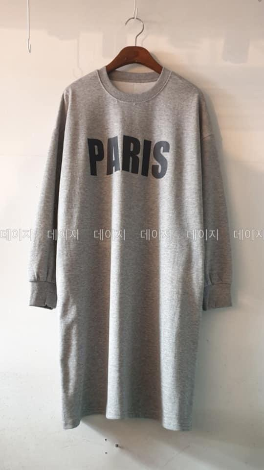 2186579正韓✈️🇰🇷 日韓式寬鬆馬卡龍色慵懶休閒T恤裙