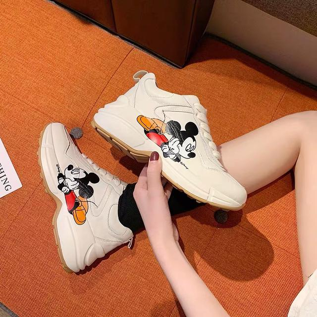 韓版米老鼠老爹鞋預購