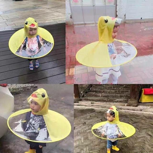 兒童飛碟雨衣