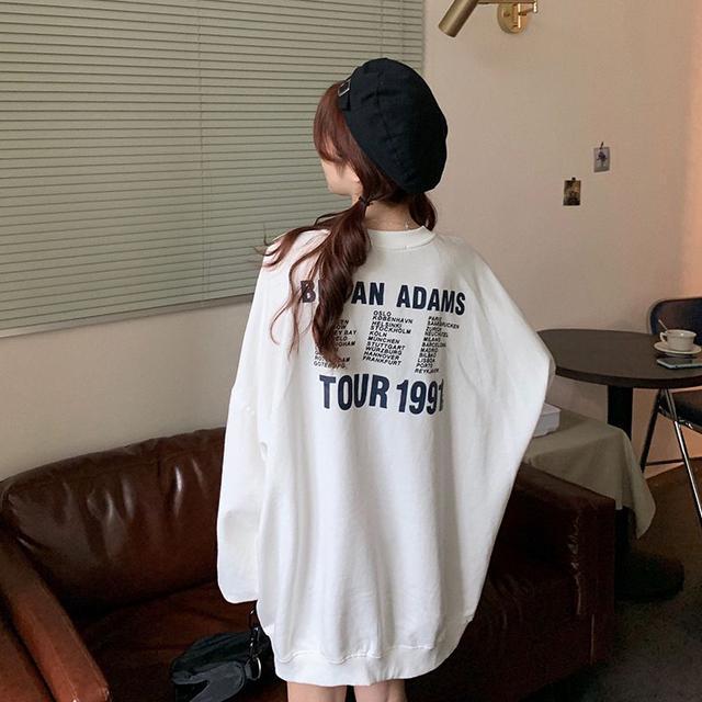 【預購】甜美風中長版薄長袖上衣