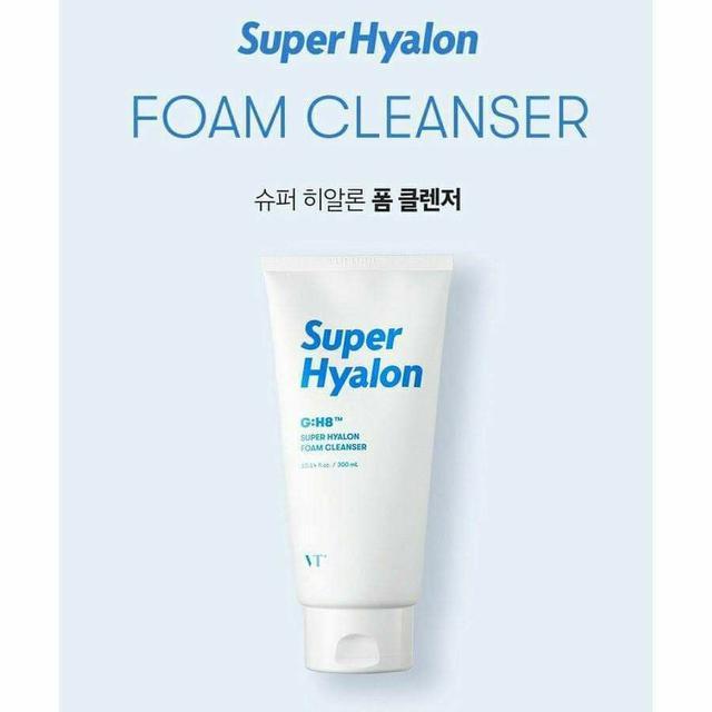 韓國 VT Super Hyalon G:H8 超級玻尿酸洗面乳 300ml