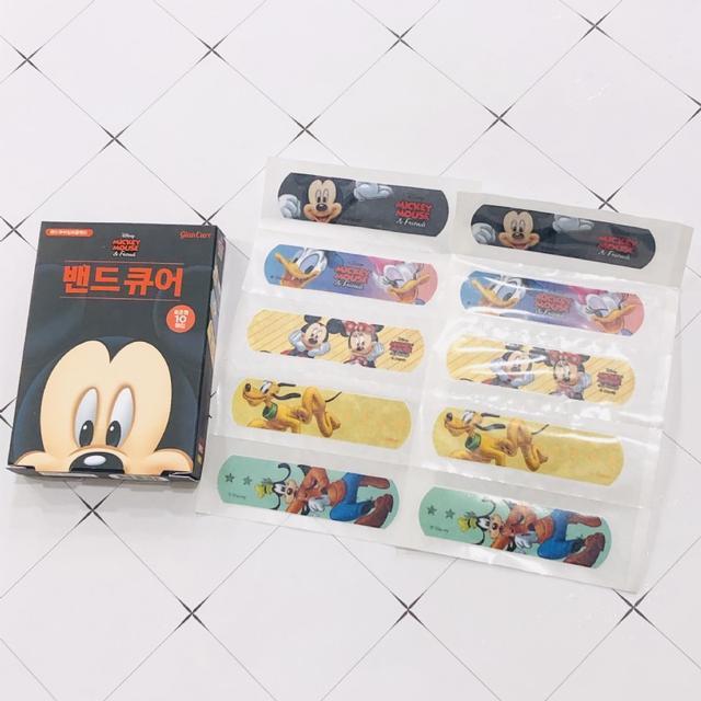 韓國正版Disney Mickey Mouse 米奇維尼冰雪奇緣創可貼🩹