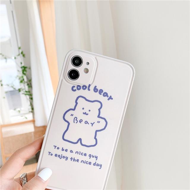 IPhone 12 可愛小熊手機殼