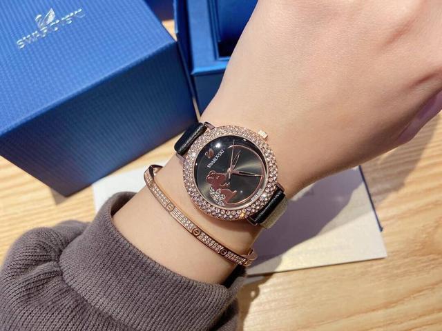 專櫃同款新款【新品】施華洛世奇 COSMIC ROCK 施華洛世奇手錶