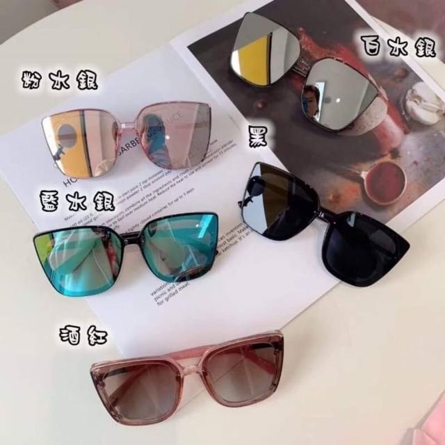 190826018潮款方框防紫外線時尚墨鏡