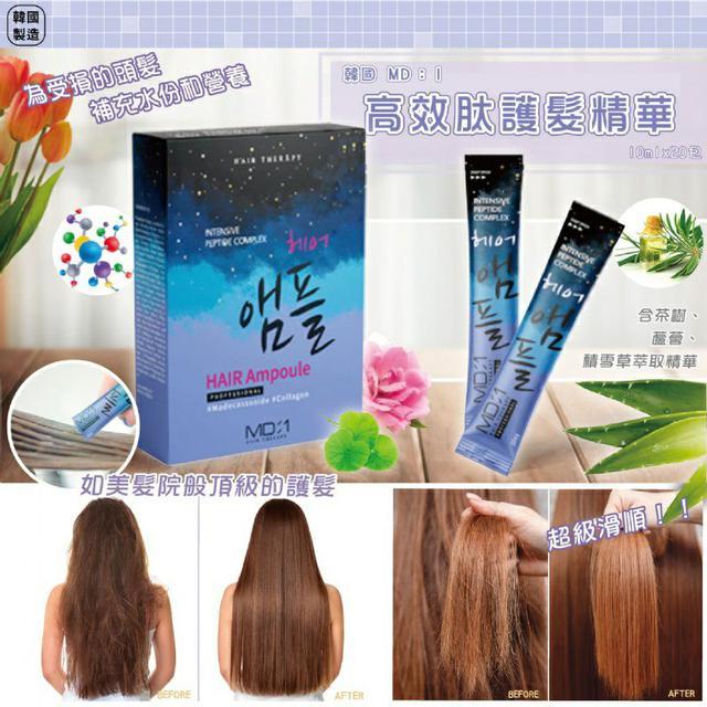 6/15收單-韓國製造 MD:1 高效肽護髮精華