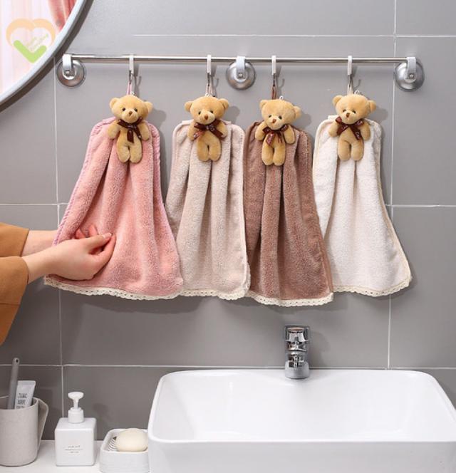 [雜貨店](2入)小熊擦手巾