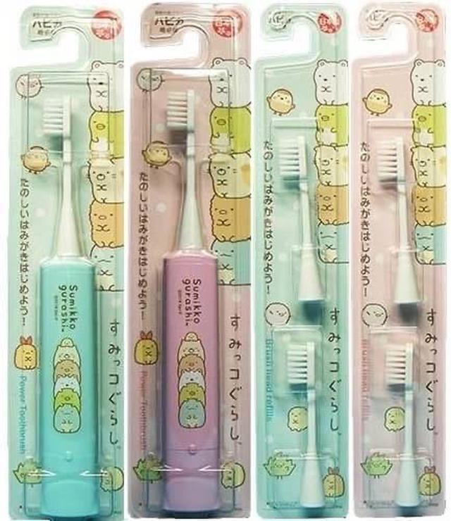 日本製角落生物電動牙刷