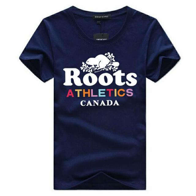 Roots圓領T