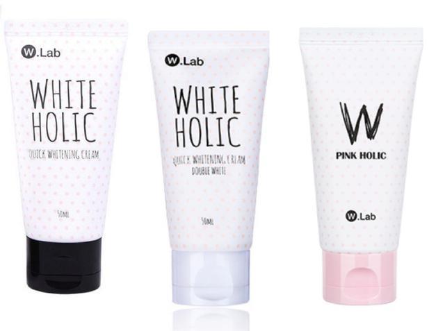 WLAB 美白霜系列 黑蓋/白蓋/粉蓋