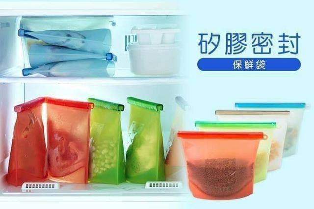 食品加熱矽膠保鮮袋