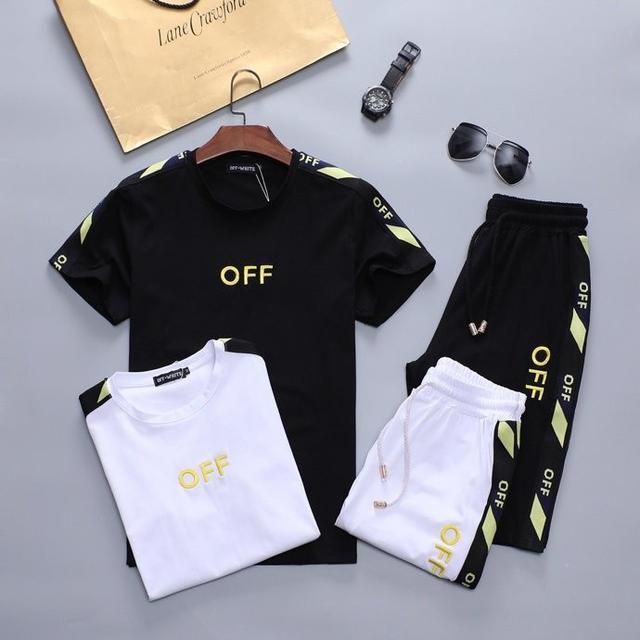 [OFF】男士套装/👍世界时尚顶级纯棉⚡🔥⚡手感滑爽⚡极度舒适体验⚡