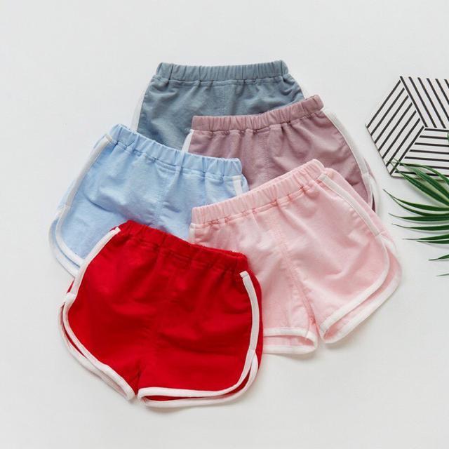 冰絲兒童運動短褲