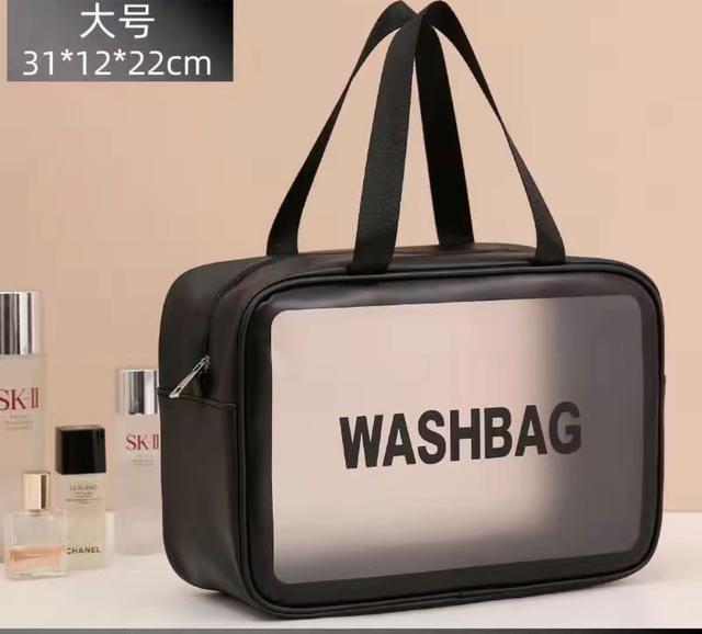大號網紅化妝包ins風超火大容量便攜女旅行透明防水洗漱包收納袋手提